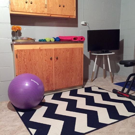 Home gym. DIY. styleandthesuburbs.wordpress.com