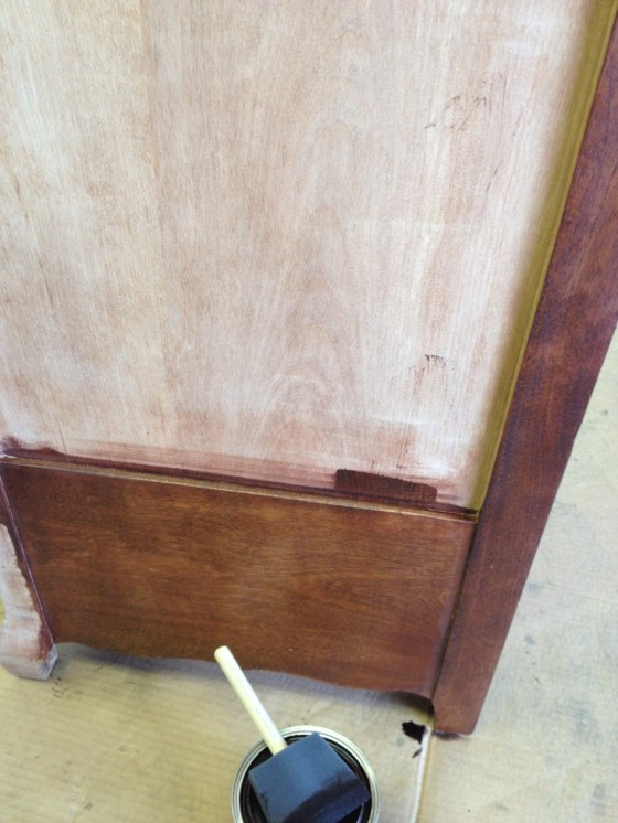 Refinishing an Antique Dresser DIY | Style and the Suburbs