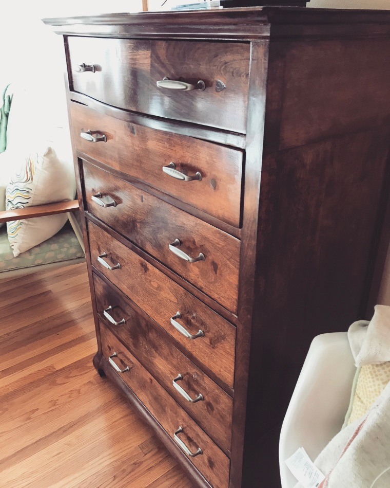 Refinishing Antique Furniture DIY | Style and the Suburbs
