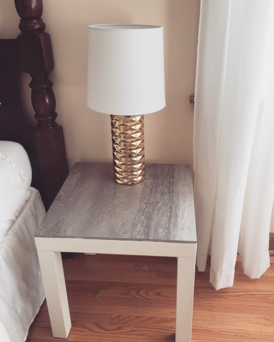 IKEA Hack: Stone Top End Tables | Style and the Suburbs