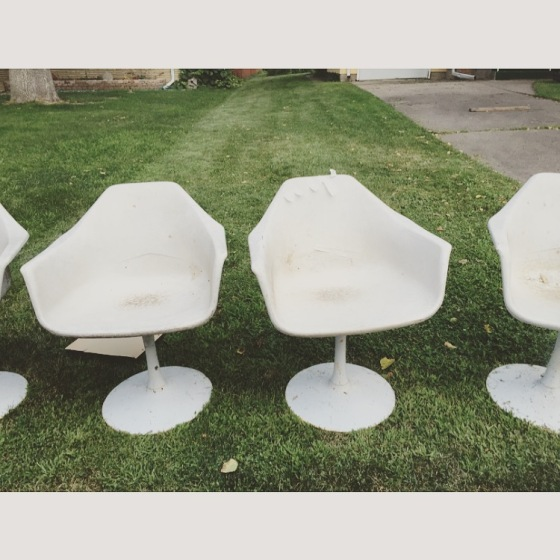 Refinishing Vintage Chairs DIY | Style and the Suburbs