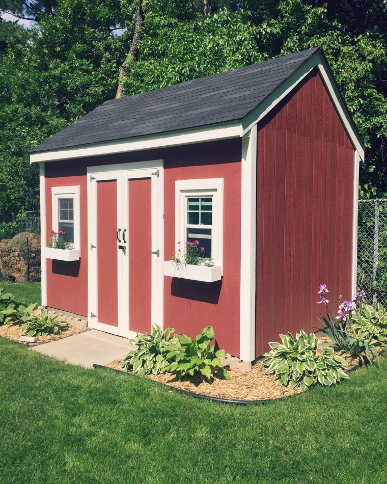 Building a Storage Shed DIY | Style and the Suburbs