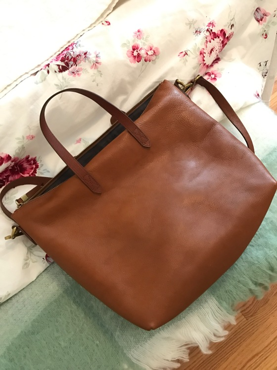 Removing a Water Stain from a Leather Madewell Bag