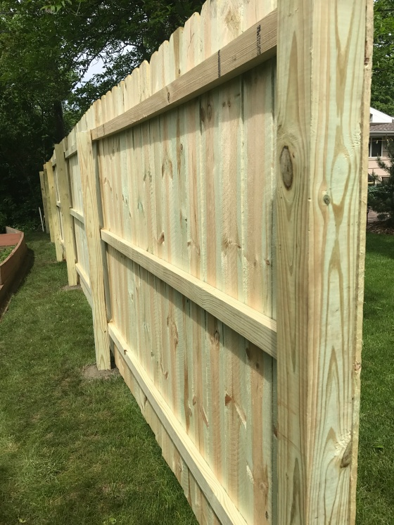 Building a Privacy Fence DIY | Style & the Suburbs