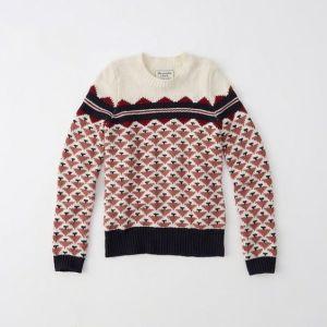 Fair Isle Sweater (earlier purchase) $21.00