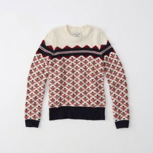 Fair Isle Sweater (earlier purchase) $21.00