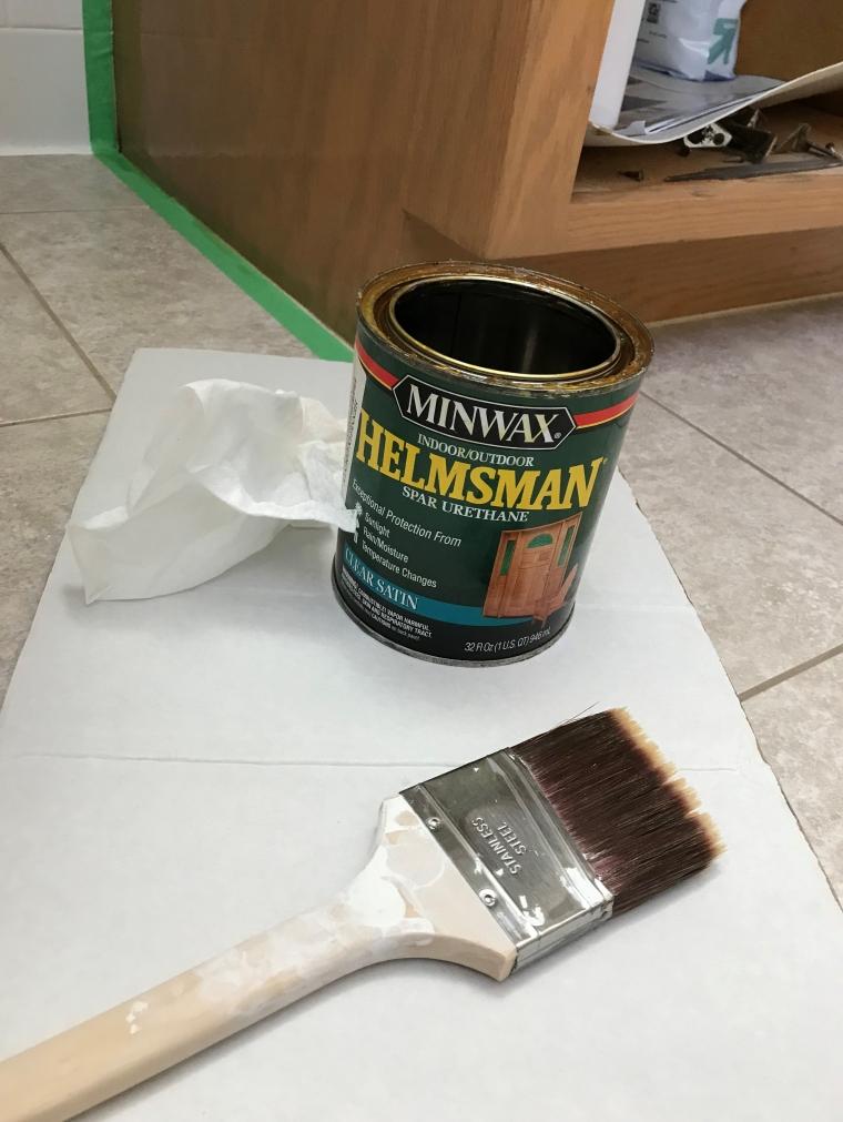 Refinishing a Bathroom Vanity DIY   Style & the Suburbs