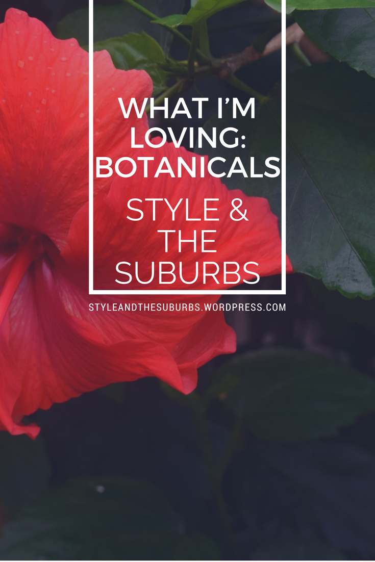 What I'm Loving: Free Botanical Downloads | Style & the Suburbs