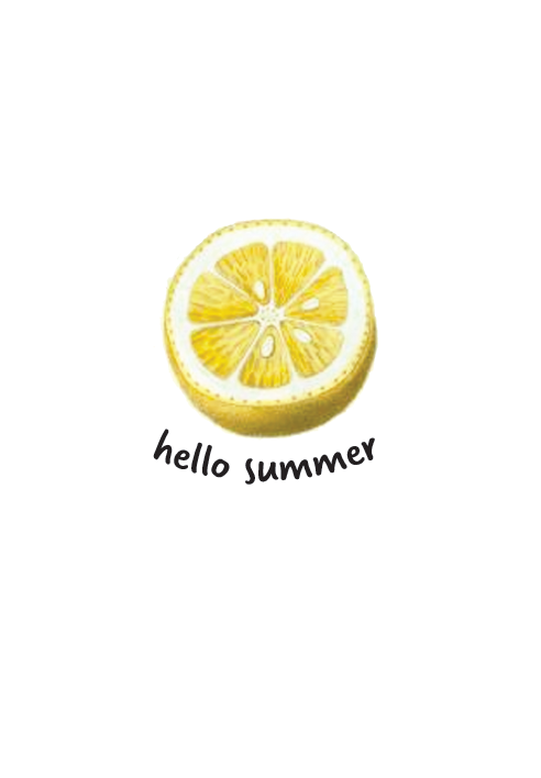 Hello Summer Free Printable Lemon Artwork | Style & the Suburbs