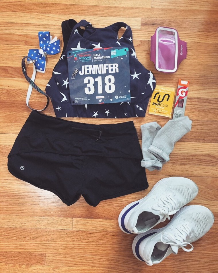 Red White and Boom Half Marathon Recap | Style & the Suburbs