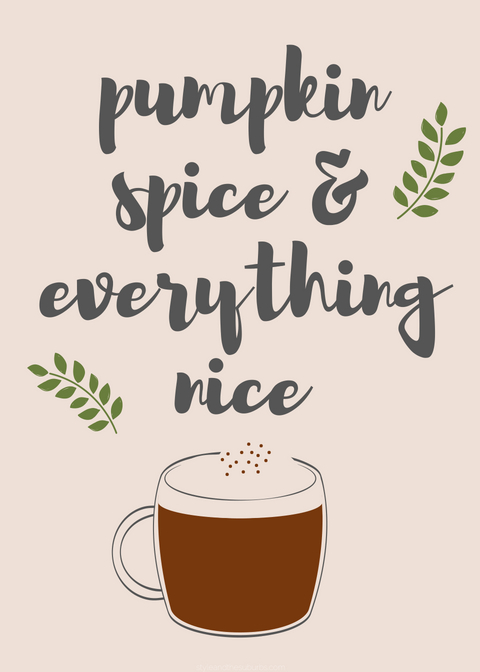 Fall Decor and Free Fall Printables | Style & the Suburbs