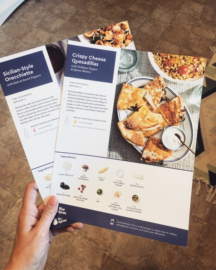 Blue Apron Meal Service Review | Style & the Suburbs