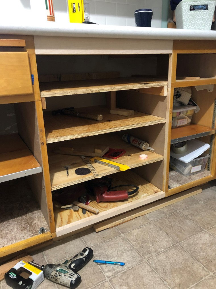 Rebuilding Vintage Cupboards | Style & the Suburbs