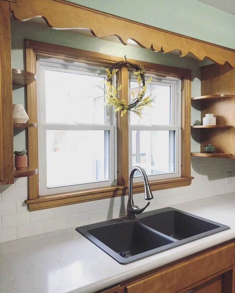 Subway Tile Backsplash DIY | Style & the Suburbs