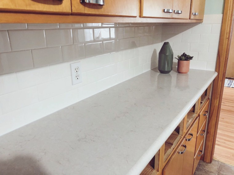 Installing A Subway Tile Backsplash DIY | Style & the Suburbs
