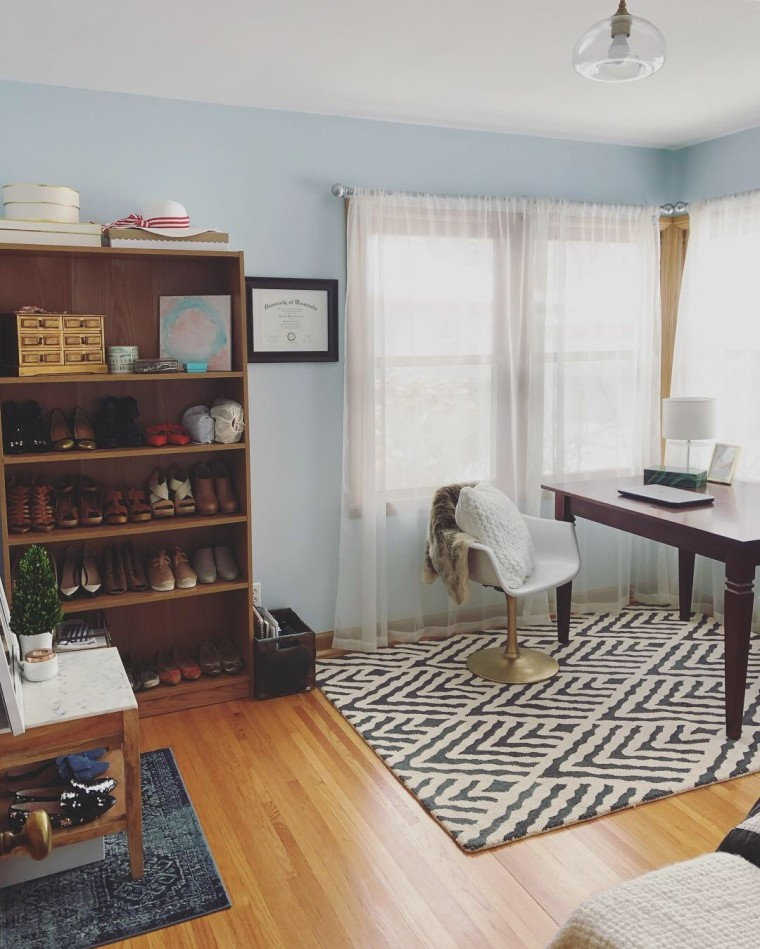 Blogger Office Mini Makeover | Style & the Suburbs