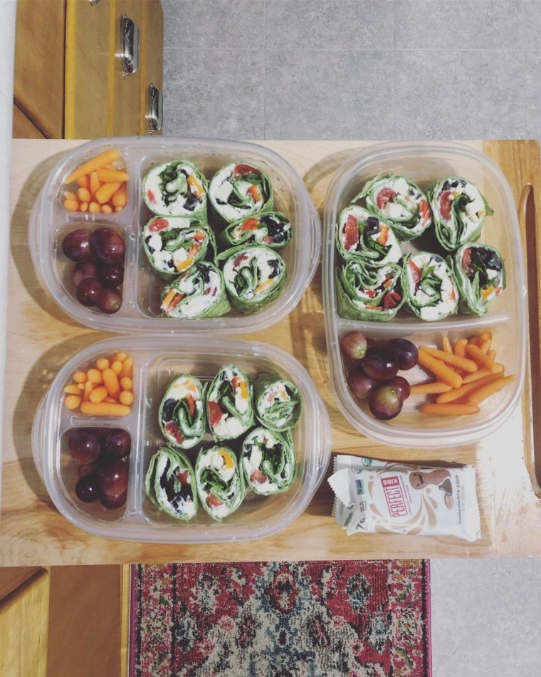 Meal Prep Recipe: Greek Veggie Wraps | Style & the Suburbs