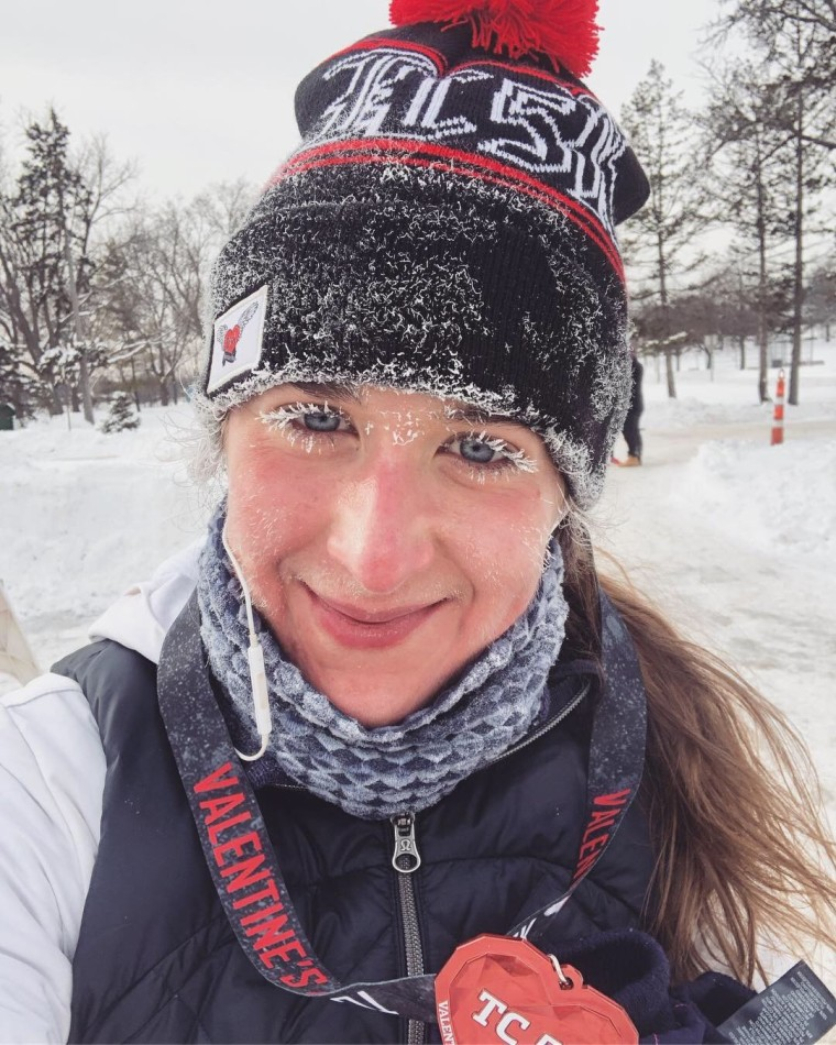 Frozen V-Day 5k Race Recap | Style & the Suburbs
