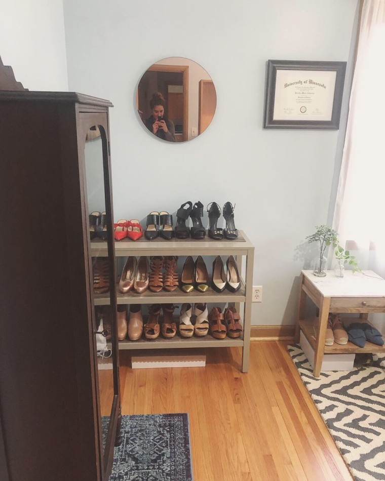 Shoe Storage Makeover | Style & the Suburbs