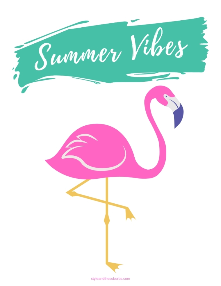 FREE Summer Printables | Style & the Suburbs