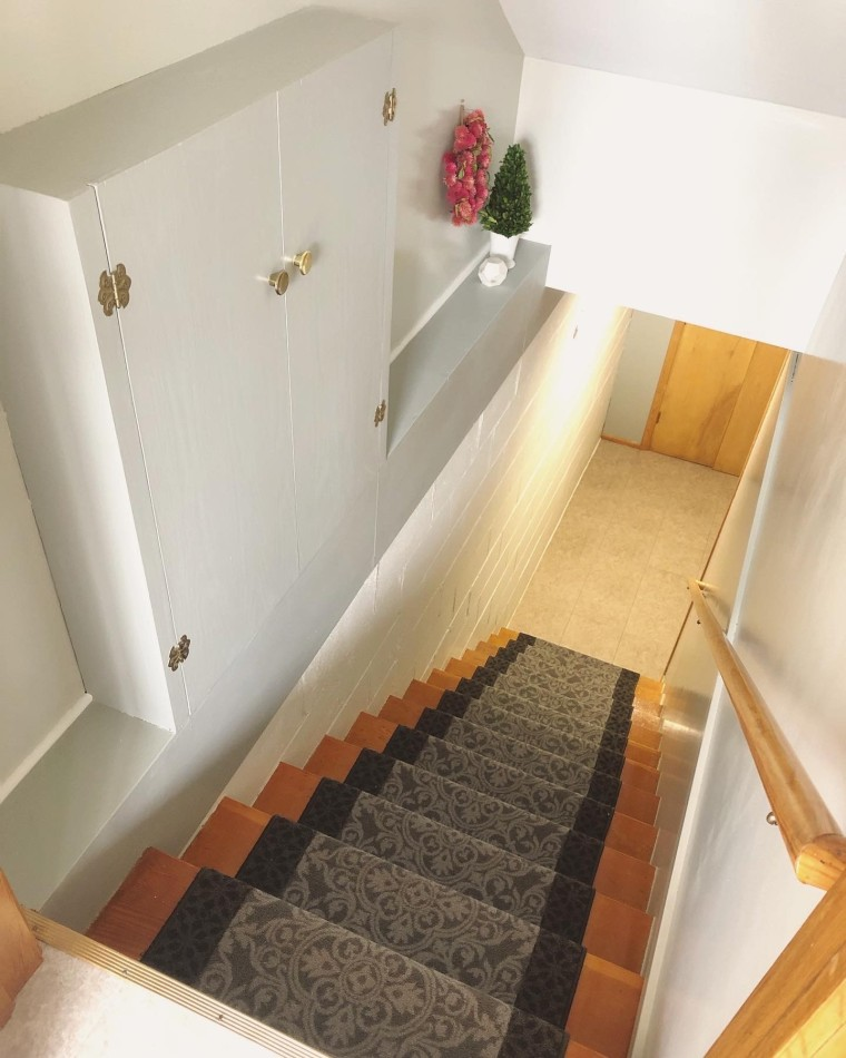 Installing a Staircase Carpet Runner | Style & the Suburbs
