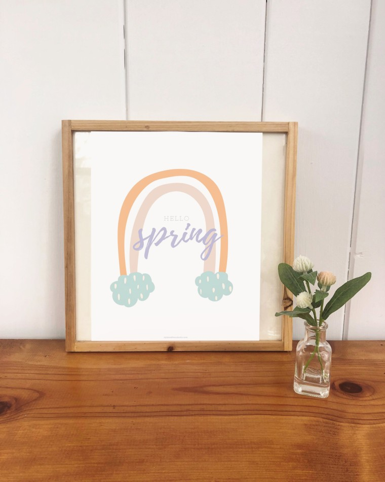 Free Pretty Spring Printables | Style & the Suburbs