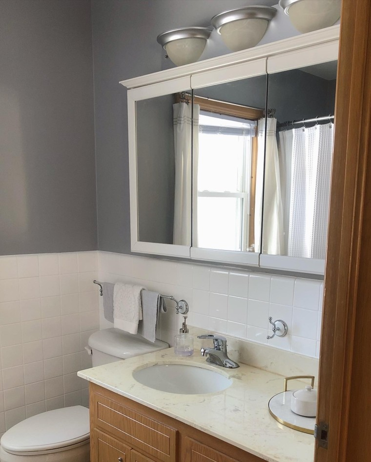 Bathroom Remodel: New Walls   Style & the Suburbs